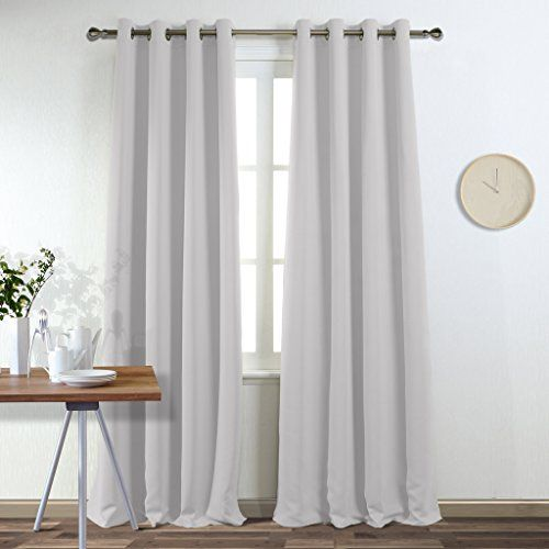 Ponydance Thermal Insulated Top Eyelet Blackout Curtains Curtains