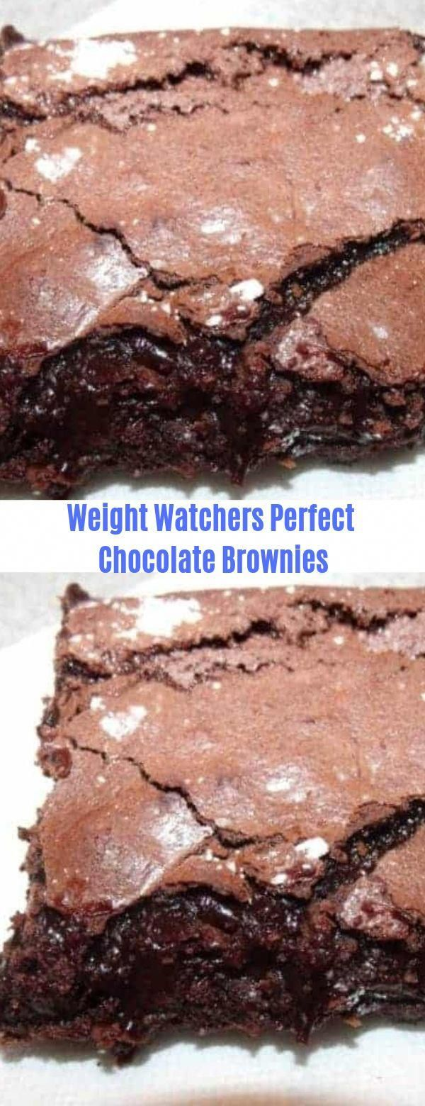 Weight Watchers Perfect Chocolate Brownies Watchers#Chocolate#Brownies