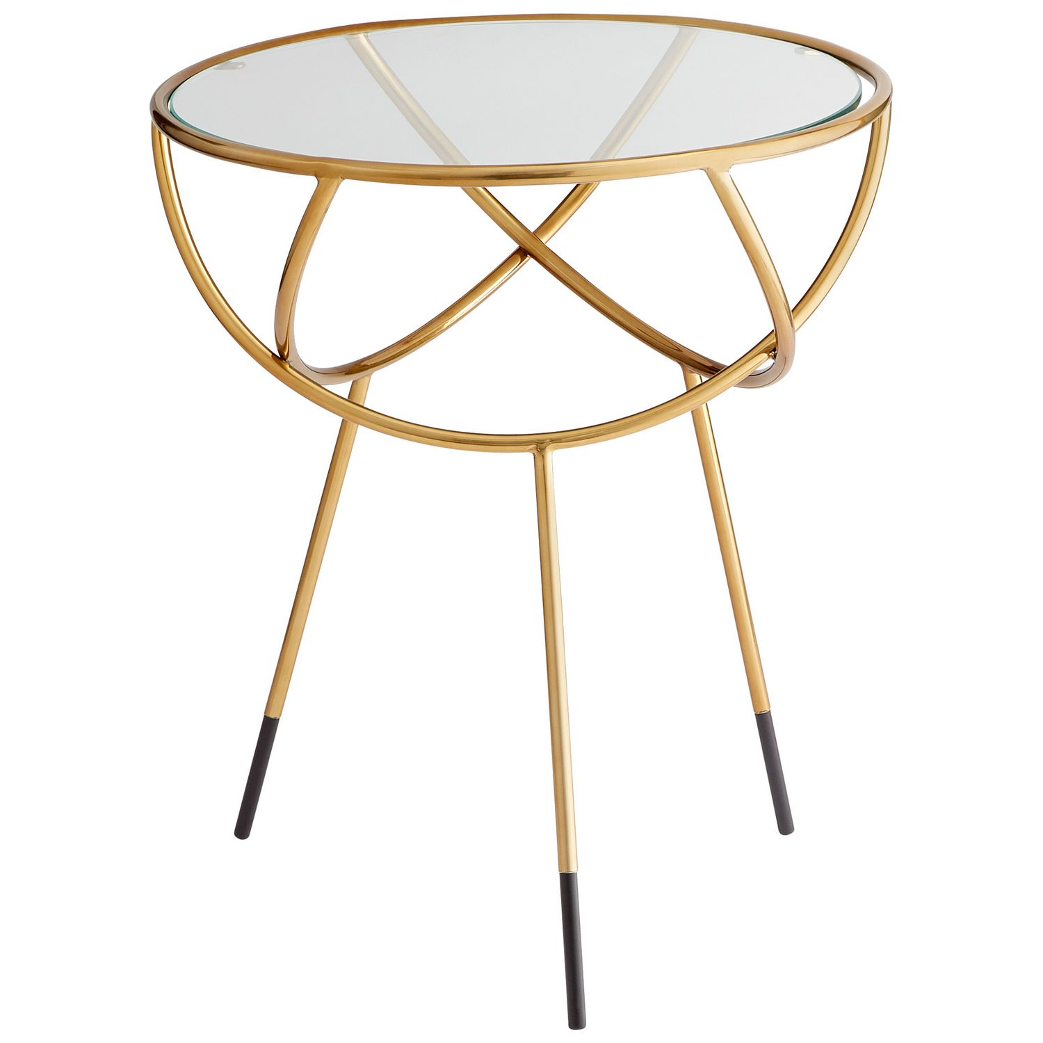 Gyroscope Side Table Cyan Design Stainless Steel Side Table Side Table [ 1500 x 1500 Pixel ]