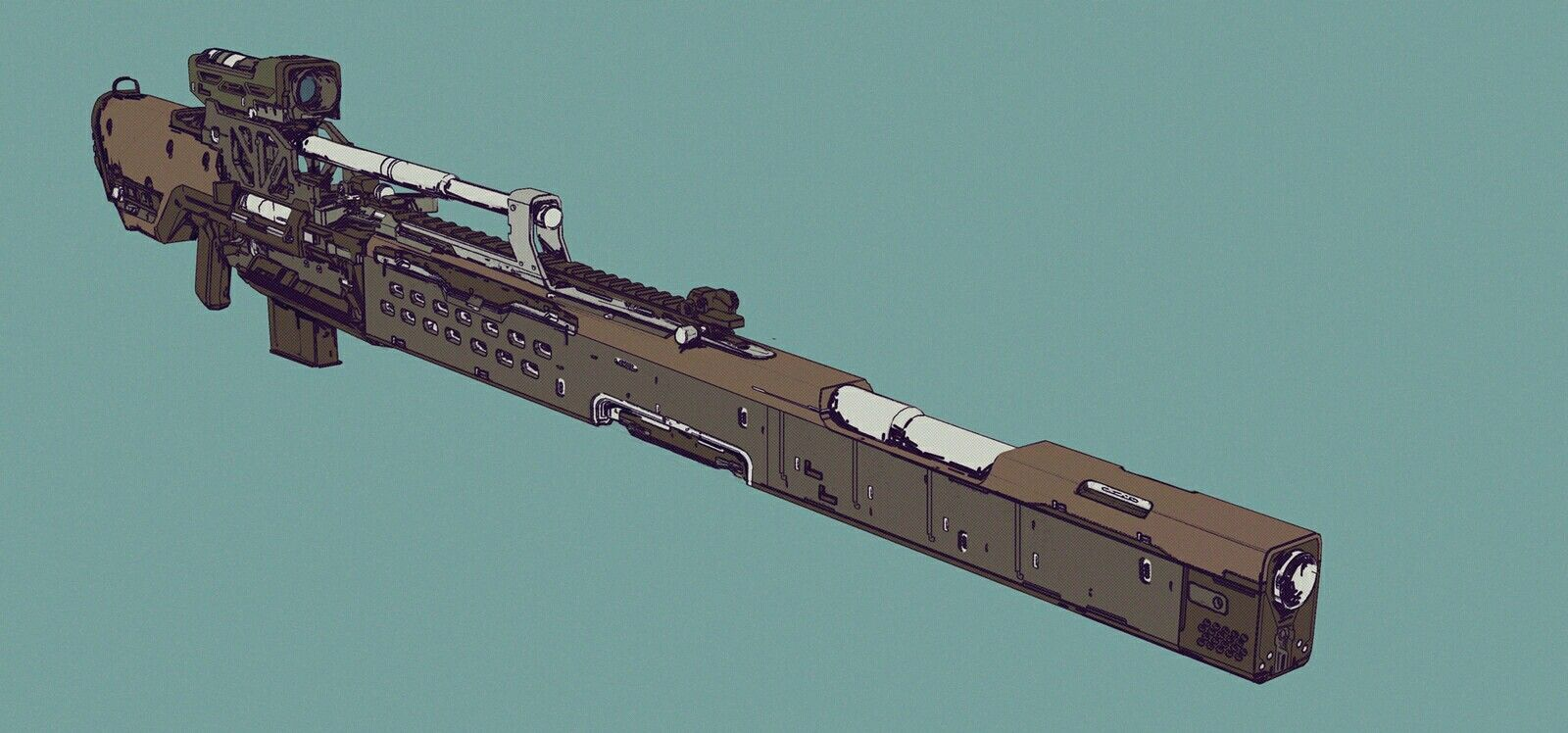 Gun Run 12 https://www.artstation.com/p/m0z4y Elijah McNeal Concept Artist; Contact - mcneal@emcnealdesign.com -- Share via Artstation Android App, Artstation © 2016