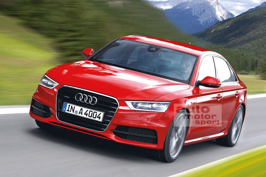 new car release dates 20142015 Audi A4 Red Sedan Front View  HD Cars Pictures  Pinterest