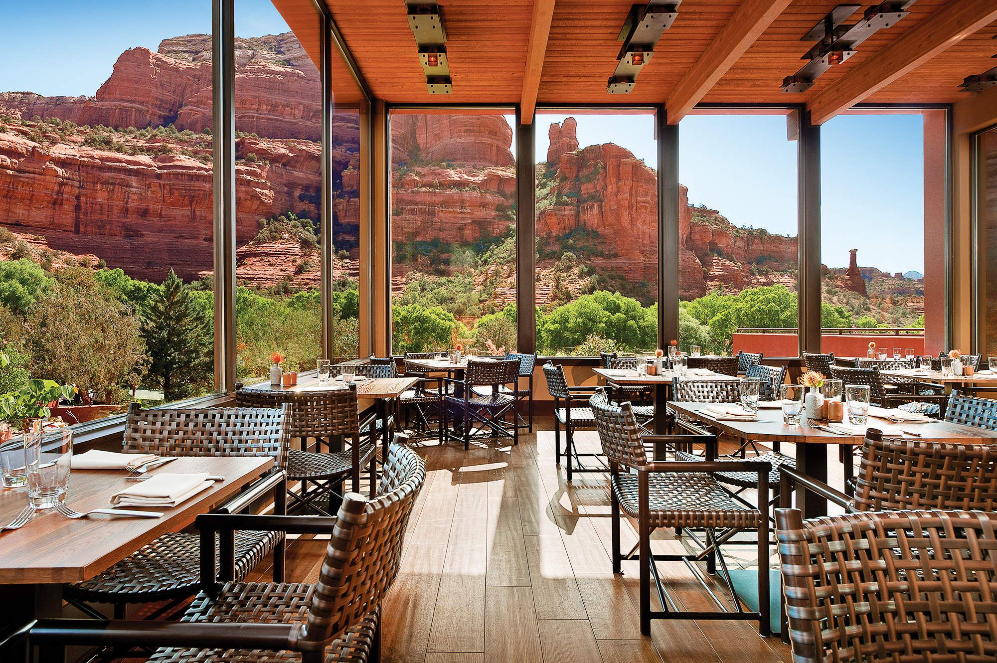 The 12 Coolest Hotels In The West Sedona Restaurants Sedona Resort Enchantment Resort Sedona