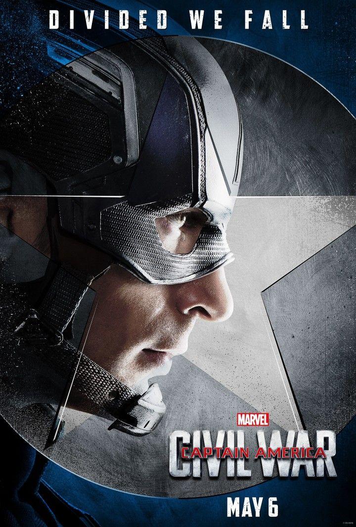 El equipo de Steve Rogers (Chris Evans) en la guerra civil de Marvel presenta sus perfiles.