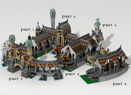 Lord Of The Rings Minecraft Creations
