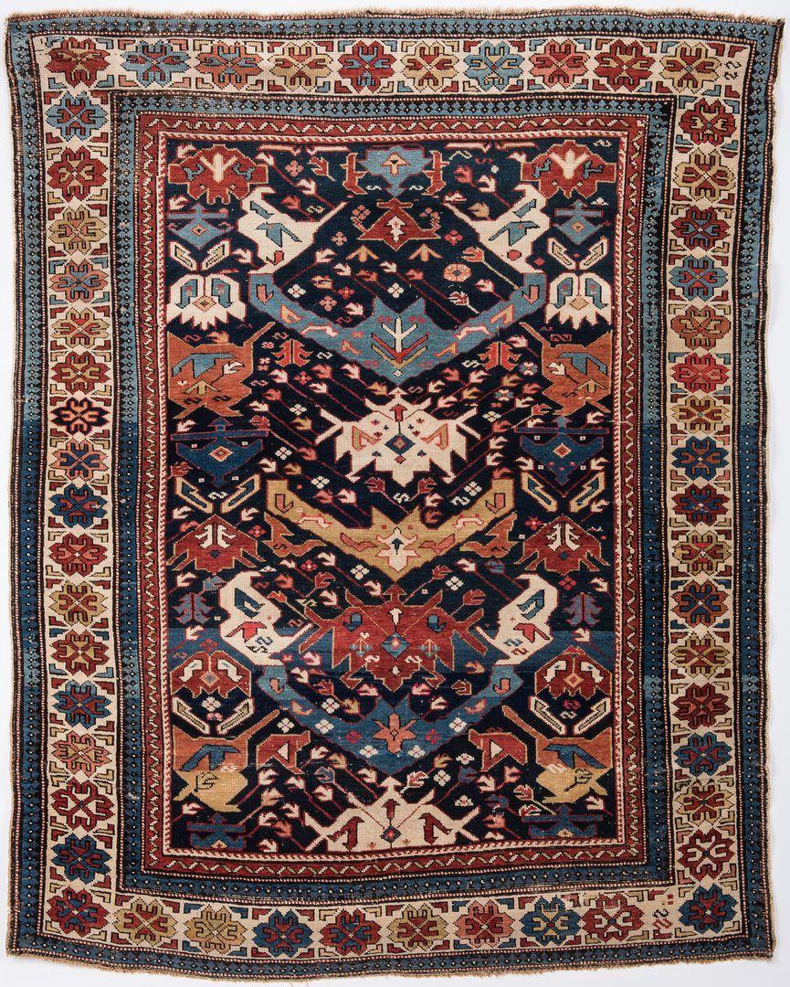 Lot 318 Antique Bidjov Rug Northeast Caucasus Rugs Antiques