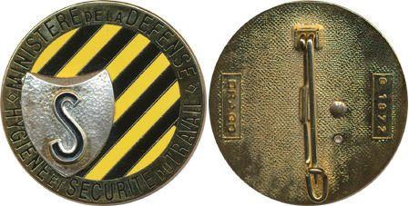 Hygiène et Sécurité du Travail, Ministère de la Défense, Drago 1872 (4804)