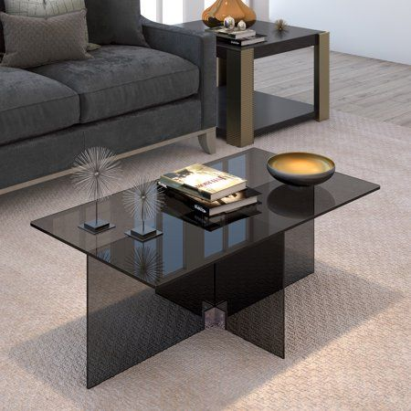 Home In 2019 Modern Glass Coffee Table Modern Coffee Tables Table