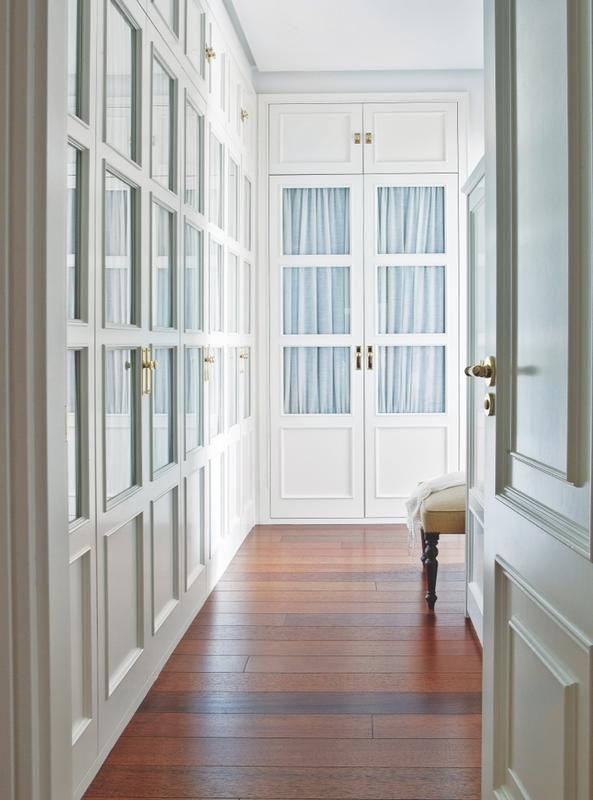 Diez armarios ideales que resuelven el orden home ideas - Cortinas para pasillos ...