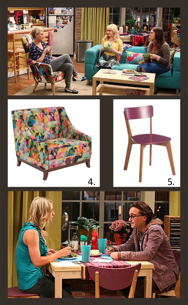 5 produtos do cen rio de the big bang theory o for Decoracion piso big bang theory