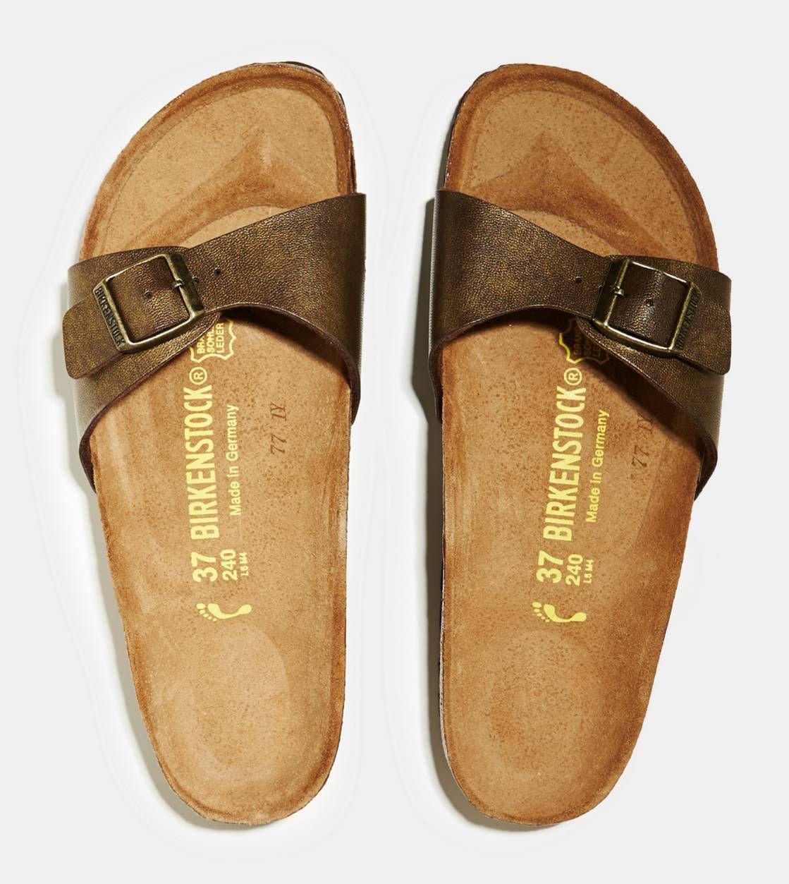 Brown Birkenstock Madrid Sandal | Birkenstock sandals black