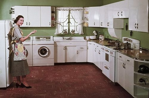 50 S Kitchen With Style Retro Kitchen Beautiful Houses Interior Metal Kitchen Cabinets