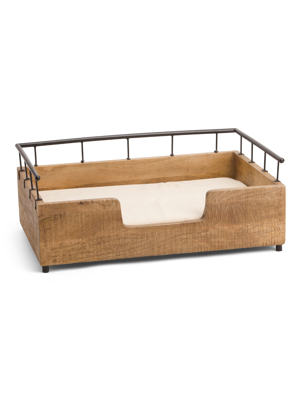 Carved Wooden Dog Bed Pet T.J.Maxx in 2020 Wooden
