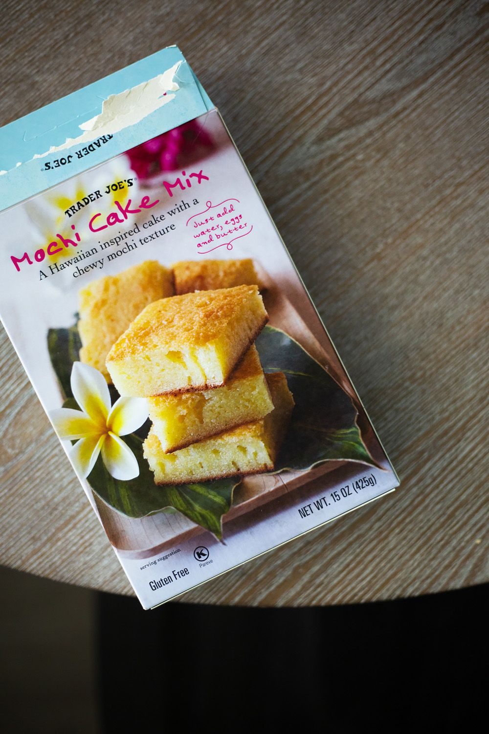 A review of trader joes mochi cake mix mochi cake food