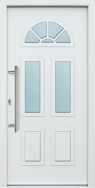 Akuri Aluminium Eingangstur Haustur 3 Fach Verglasung Aluminium Hausturen Haustur Weiss Haustur