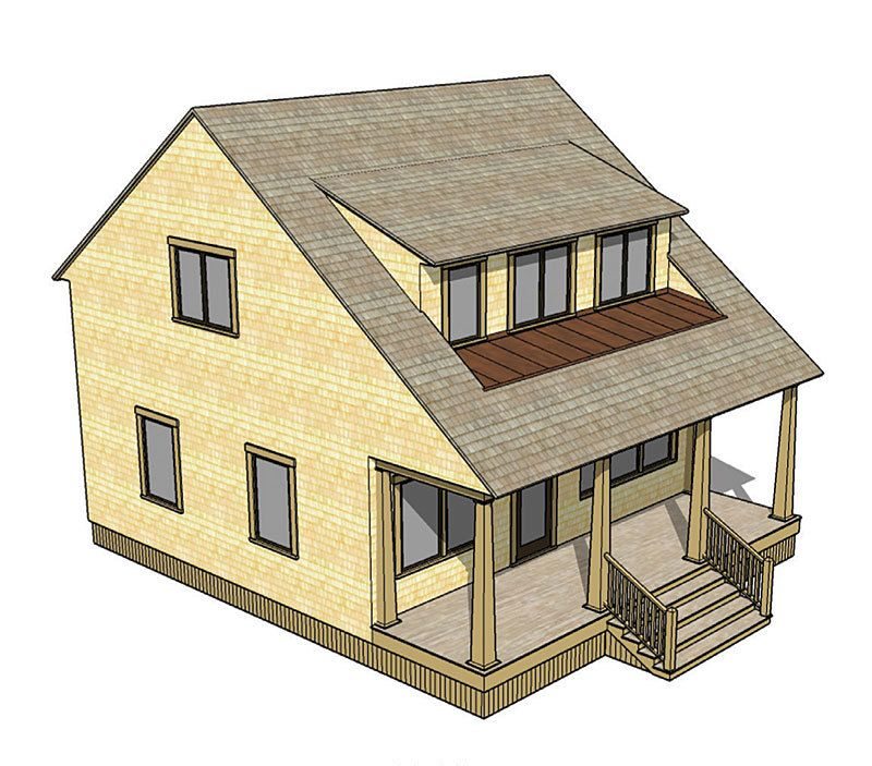 A shed dormer can be the best way to add space to a one for House plans with shed dormers
