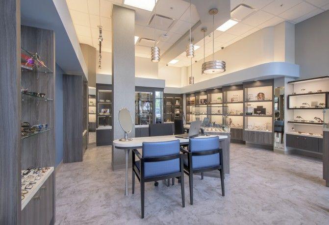 Flaum Eye Institute Barbara Wright Design Optometry