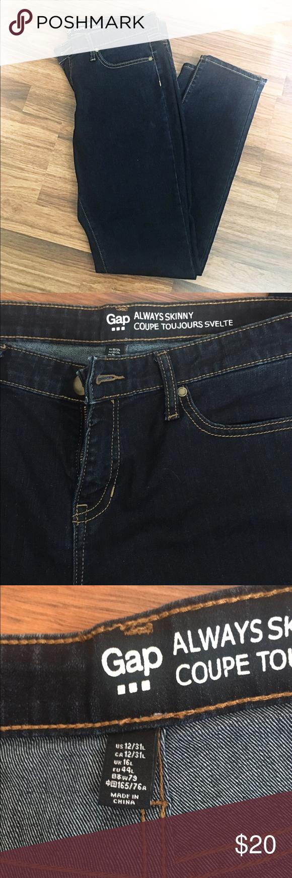 Gap always skinny jeans uk