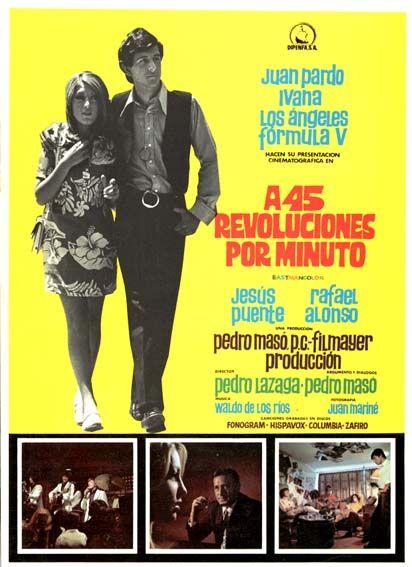 A 45 revoluciones por minuto (1969) - tt0063978 - Esp | Carteles ...