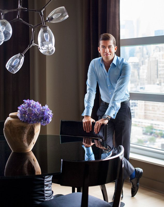 Inside Million Dollar Listing New York Star Luis D. Ortizu0027s Luxe Bachelor  Pad! |