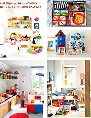 Decoración en Finlandia kids rooms