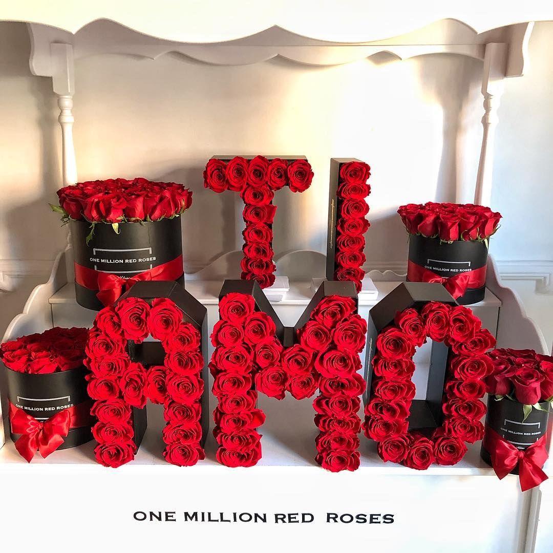 Ti Amo Love Tiamo Onemillionroses Shoponline One Million