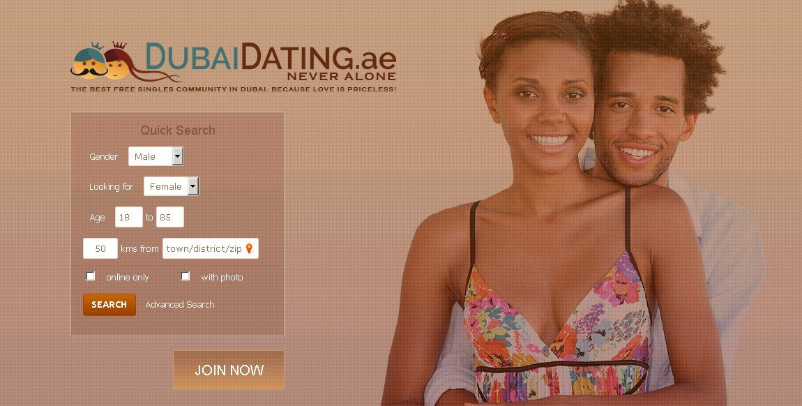 Top dating site in dubai