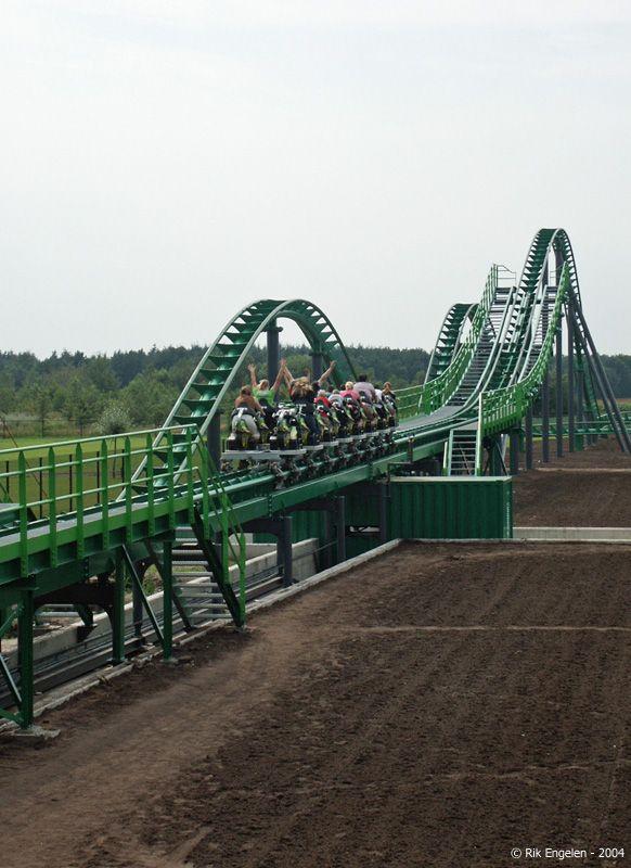 Booster Bike Toverland Sevenum Limburg Netherlands Thrill Ride Roller Coaster Limburg