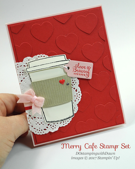 Two for Thursday: Merry Cafe Love Cards