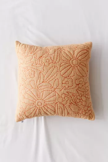 Throw Pillows Blankets Urban Outfitters Canada In 2020 Boho Throw Pillows Embroidered Throw Pillows Floral Throw Pillows