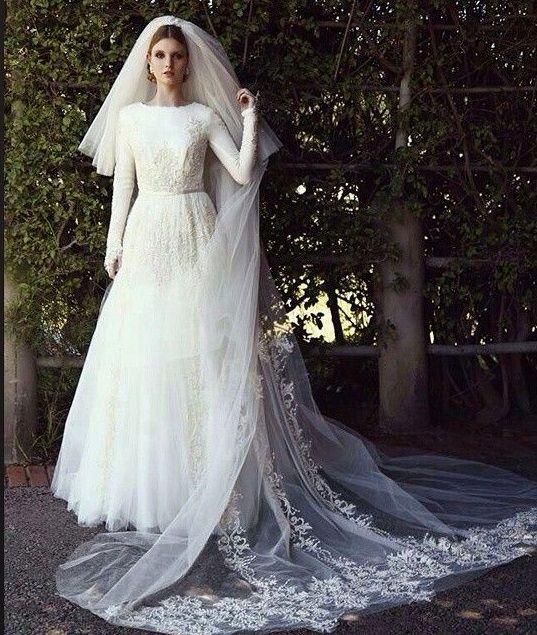 Chana Marelus Couture Bridal #tznius