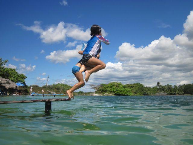 Lagoa do paraíso em Jericoacoara - Ceará #voali