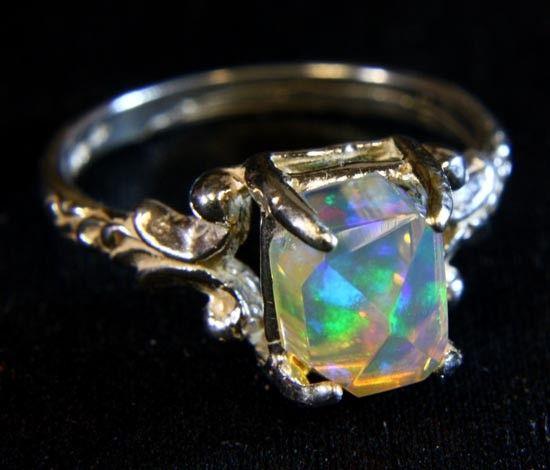 Beautiful sterling silver welo opal ring sz 65 9605 rings beautiful sterling silver welo opal ring sz 65 9605 mozeypictures Gallery