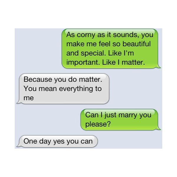 this is so sweet! a guy who isnt afraid of telling his girl
