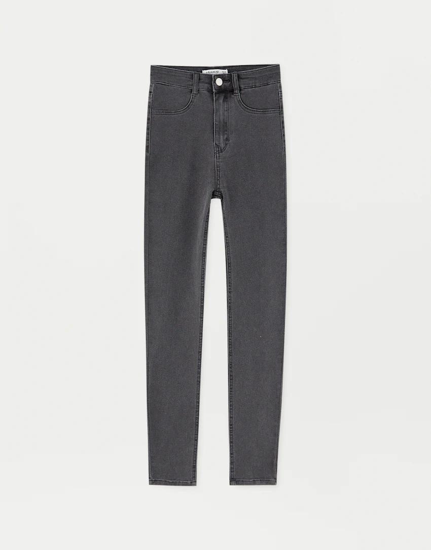 High Waisted Skinny Jeans Pull Bear