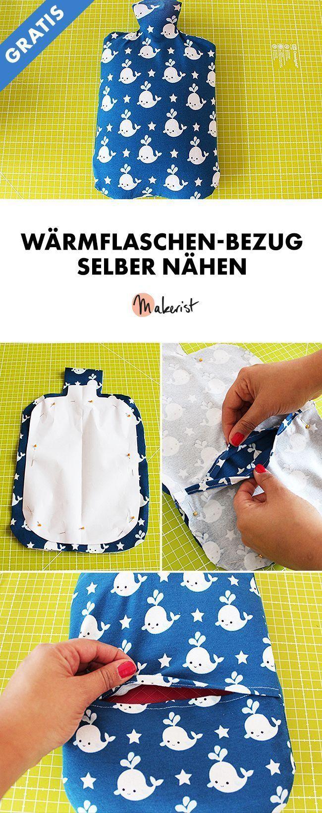 Photo of Nähen Sie die Wärmflaschenabdeckung selbst – kostenlose Nähanweisungen über Makerist.de