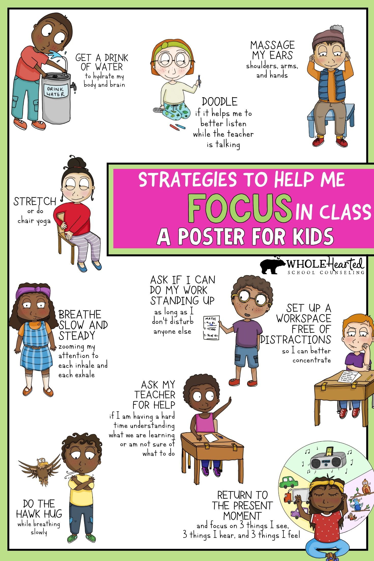 Social Emotional Learning Poster Bundle Sel Classroom School