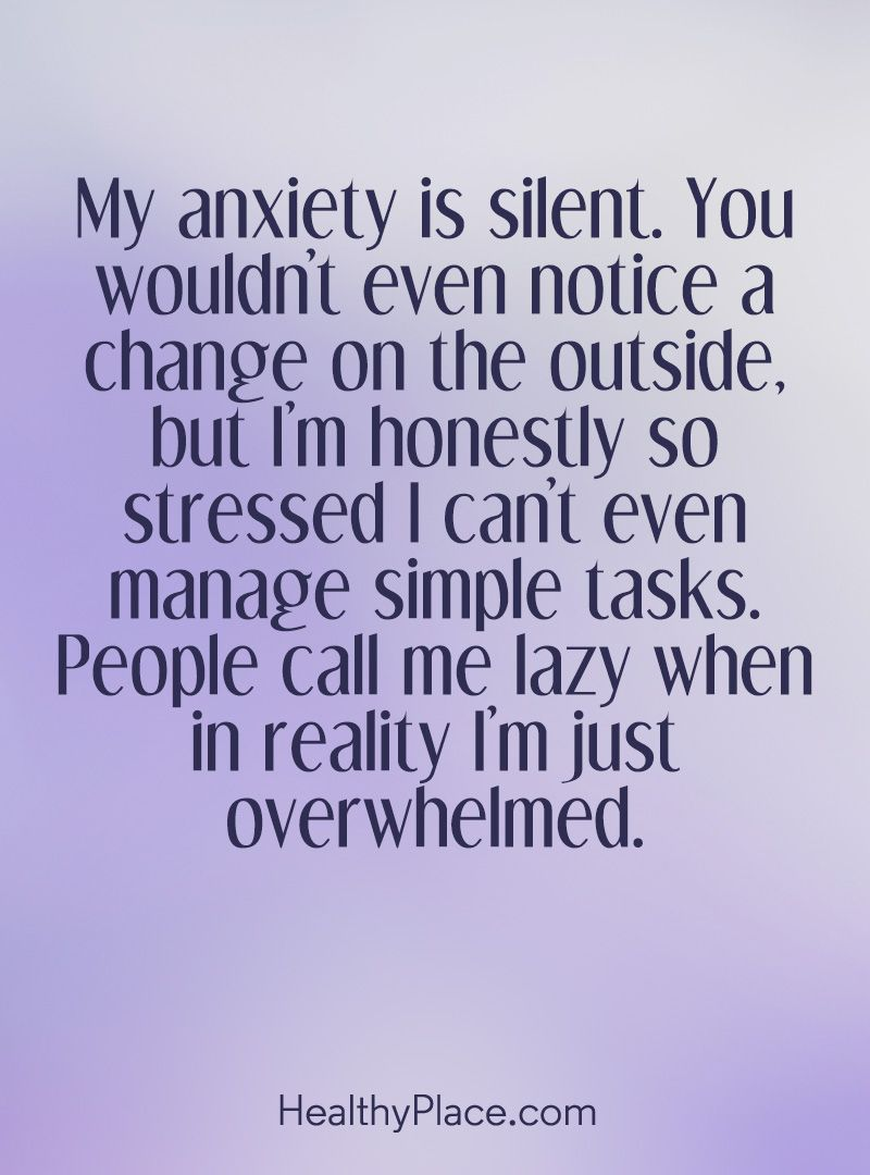 Billedresultat for anxiety quotes
