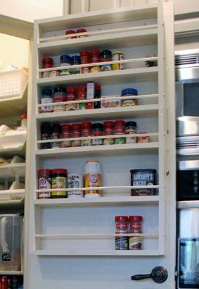 Pantry Door Spice Rack Door Spice Rack Door Mounted