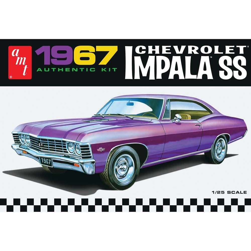 AMT 1/25 1967 Chevy Impala SS (Stock) (large view) | badass ...
