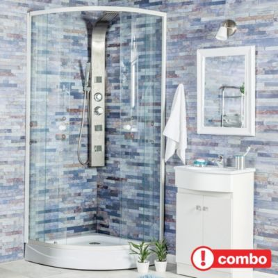 Cabina duchas y columnas for Llaves para duchas sodimac