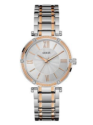 0b1bc9722a55 Refined Two-Tone Feminine Watch