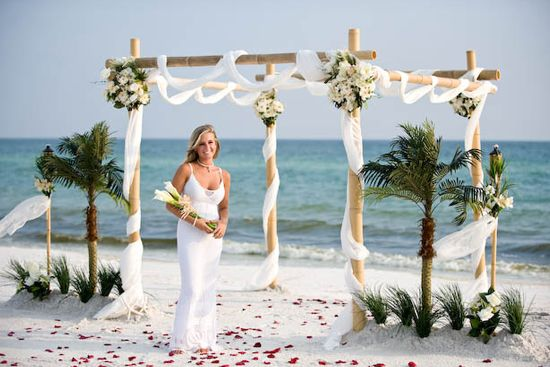 Beach Wedding Decorations Simple Dress You Are