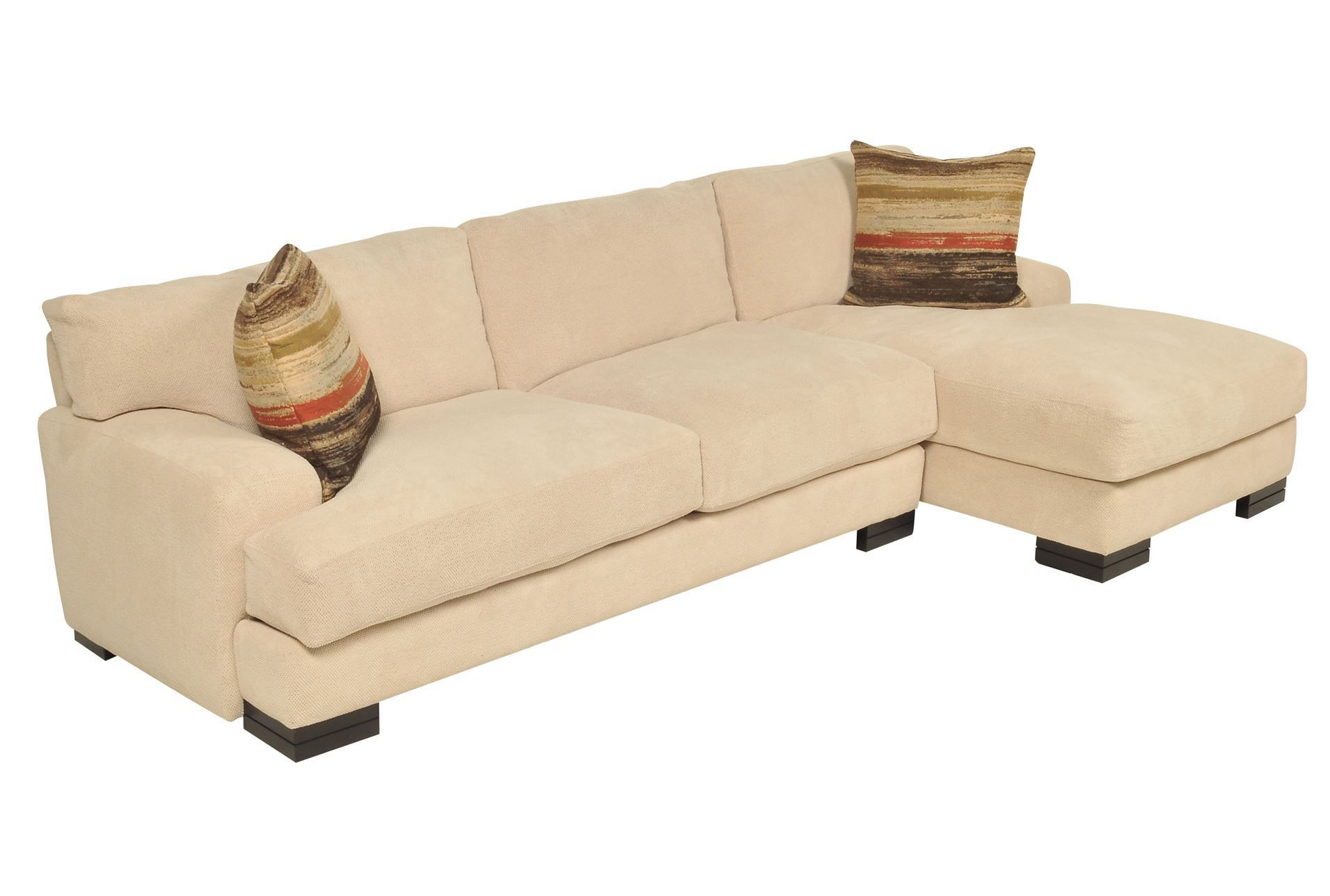 Portico 2 Piece Sectional Living