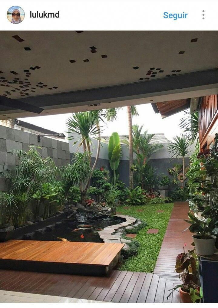 Minimalist House 85 Design: Minimalist Garden 4 Small Apartment Designs Under 50 Square Meters Smallofficeserverroomdesign S