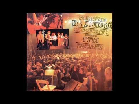 Fabrizio De Andrè & PFM - Volta la carta (Live)