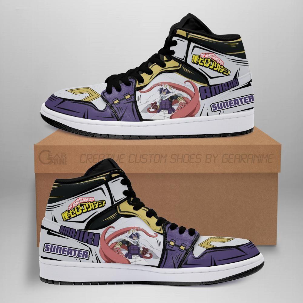 Tamaki Suneater Jordan Sneakers Custom My Hero Aca