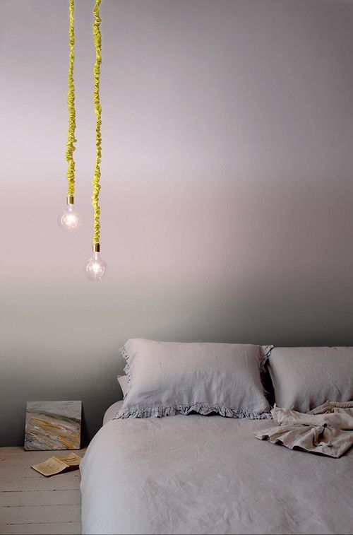 Winter Haven Inspiration: Easy and relaxed space perfect for snuggling. Image Source facebook.com/CrownPaintsIreland