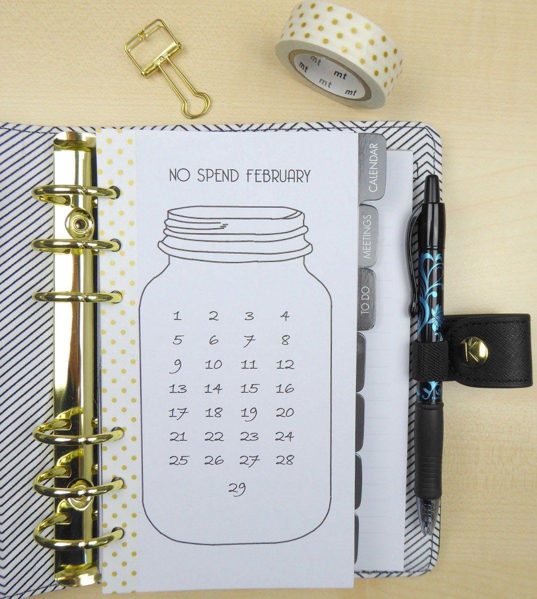Eine süße Kalender Idee - für dein Notizbuch Kalender
