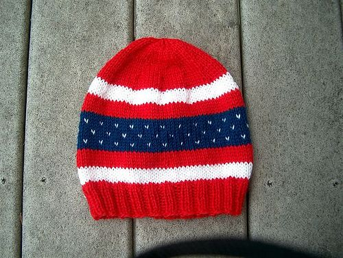 A Trio of Patriotic Hats pattern by Laurie Moskow