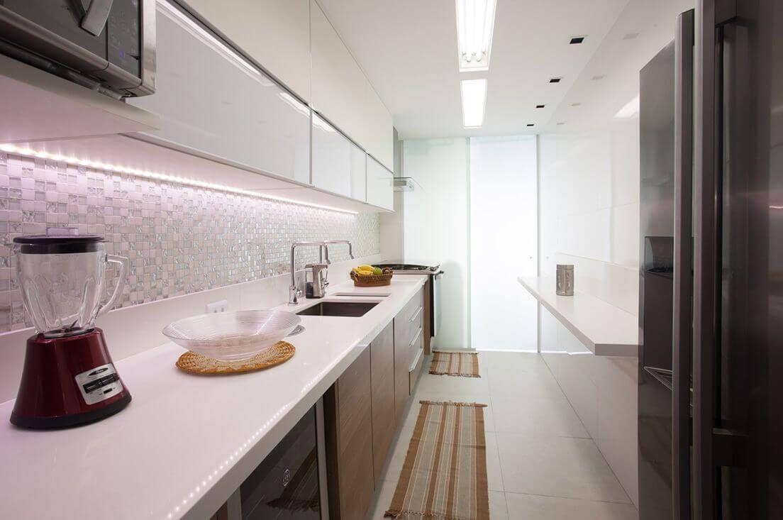 Cozinha Moderna Com Pastilha Pastilhas Recomendado Balc O De